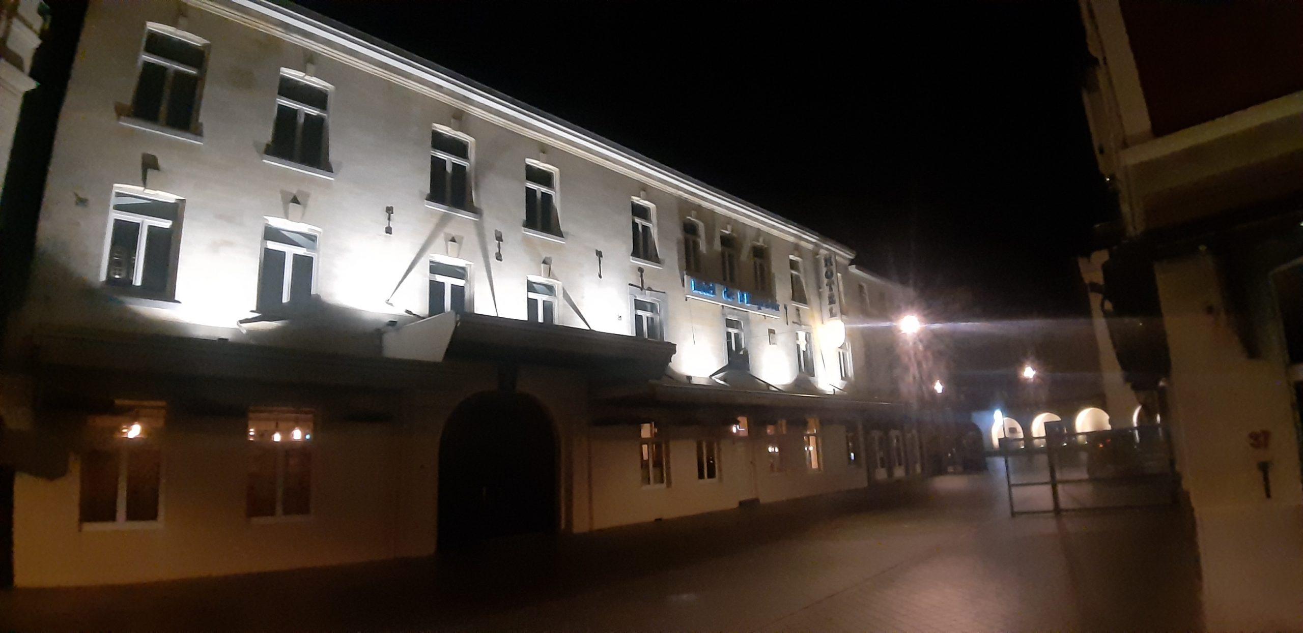 gevel verlichting bedrijf gebouw valkenburg